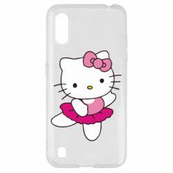 Чехол для Samsung A01/M01 Kitty балярина