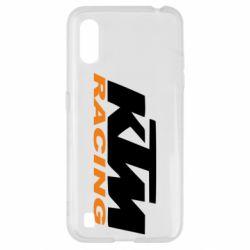 Чехол для Samsung A01/M01 KTM Racing