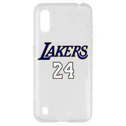 Чехол для Samsung A01/M01 Lakers 24