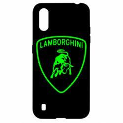 Чохол для Samsung A01/M01 Lamborghini Auto