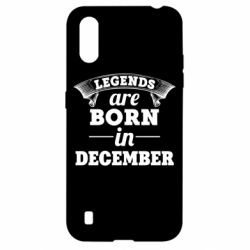 Чехол для Samsung A01/M01 Legends are born in December