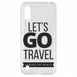 Чохол для Samsung A01/M01 Let's go travel around the world
