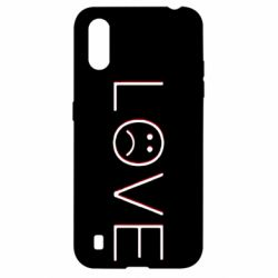 Чохол для Samsung A01/M01 lil peep: love