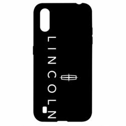 Чехол для Samsung A01/M01 Lincoln logo
