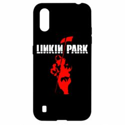 Чехол для Samsung A01/M01 Linkin Park Album