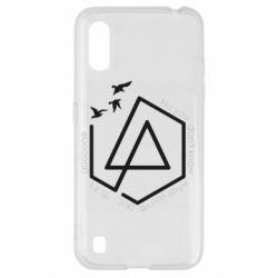 Чохол для Samsung A01/M01 Linkin park Until It's Gone