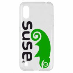 Чехол для Samsung A01/M01 Linux Suse