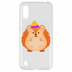 Чохол для Samsung A01/M01 Little hedgehog in a hat
