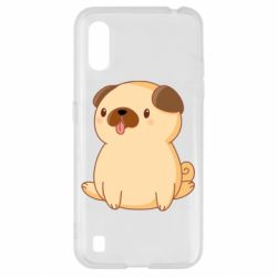 Чехол для Samsung A01/M01 Little pug