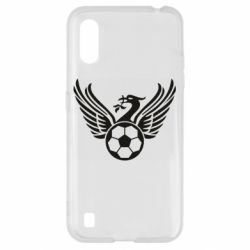 Чохол для Samsung A01/M01 Liverpool and soccer ball