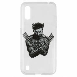 Чехол для Samsung A01/M01 Logan Wolverine vector