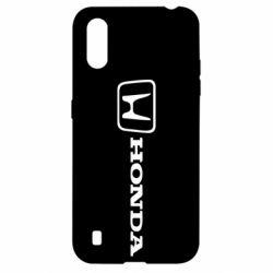 Чехол для Samsung A01/M01 Логотип Honda