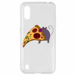 Чехол для Samsung A01/M01 Love Pizza 2