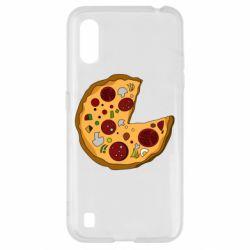 Чохол для Samsung A01/M01 Love Pizza