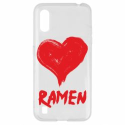 Чохол для Samsung A01/M01 Love ramen