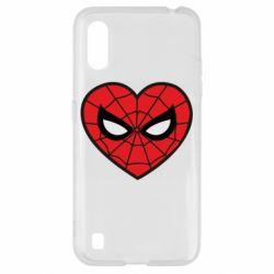 Чохол для Samsung A01/M01 Love spider man