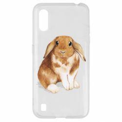 Чохол для Samsung A01/M01 Маленький кролик