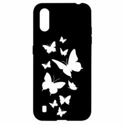 Чохол для Samsung A01/M01 Many butterflies