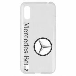 Чехол для Samsung A01/M01 Mercedes-Benz Logo