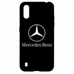 Чехол для Samsung A01/M01 Mercedes Benz
