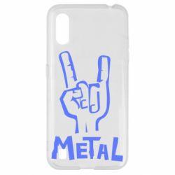 Чехол для Samsung A01/M01 Metal