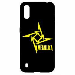 Чохол для Samsung A01/M01 Логотип Metallica