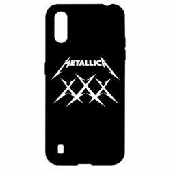 Чохол для Samsung A01/M01 Metallica XXX
