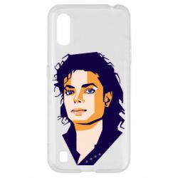 Чохол для Samsung A01/M01 Michael Jackson Graphics Cubism