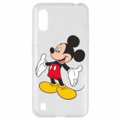 Чохол для Samsung A01/M01 Mickey Mouse