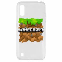 Чохол для Samsung A01/M01 Minecraft Main Logo