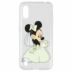 Чехол для Samsung A01/M01 Minnie Mouse Bride