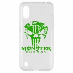 Чохол для Samsung A01/M01 Monster Energy Череп