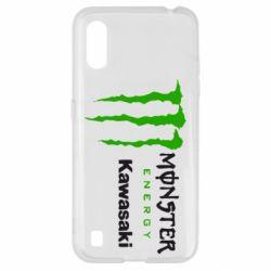 Чохол для Samsung A01/M01 Monster Energy Kawasaki