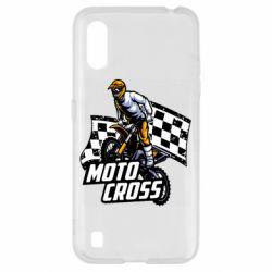 Чехол для Samsung A01/M01 Motocross