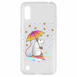 Чохол для Samsung A01/M01 Mouse and rain