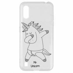 Чехол для Samsung A01/M01 Mr Unicorn
