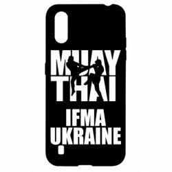 Чехол для Samsung A01/M01 Muay Thai IFMA Ukraine