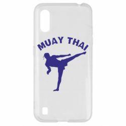 Чохол для Samsung A01/M01 Muay Thai