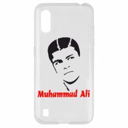 Чехол для Samsung A01/M01 Muhammad Ali
