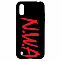 Чехол для Samsung A01/M01 N.W.A Logo