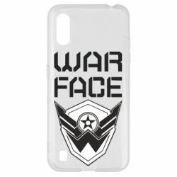 Чохол для Samsung A01/M01 Напис Warface
