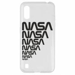 Чехол для Samsung A01/M01 NASA