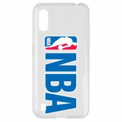 Чехол для Samsung A01/M01 NBA Logo