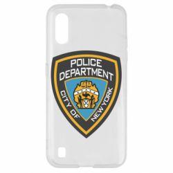 Чохол для Samsung A01/M01 New York Police Department