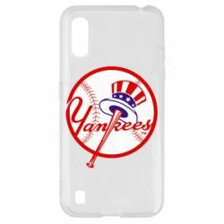 Чохол для Samsung A01/M01 New York Yankees
