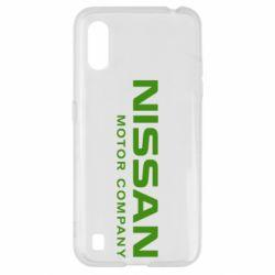Чохол для Samsung A01/M01 Nissan Motor Company