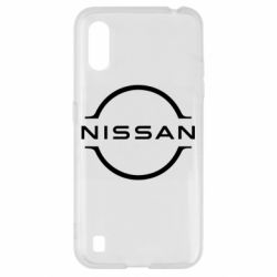 Чехол для Samsung A01/M01 Nissan new logo