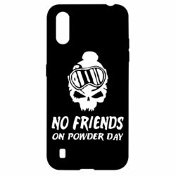 Чехол для Samsung A01/M01 No friends on powder day