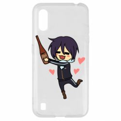 Чохол для Samsung A01/M01 Noragami and drink