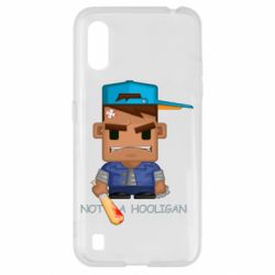 Чохол для Samsung A01/M01 Not a hooligan